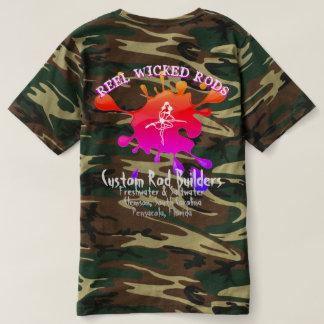 Camiseta Para pescadores e mulheres baixos