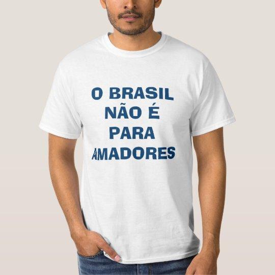 Camiseta Para profissionais