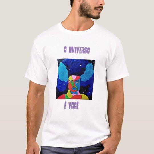 Camiseta Para quem deseja conquistar o infinito