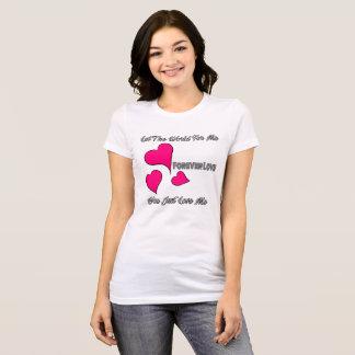 Camiseta Para sempre amor