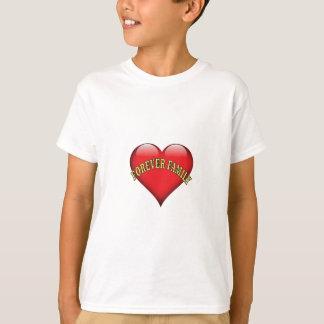 Camiseta para sempre família