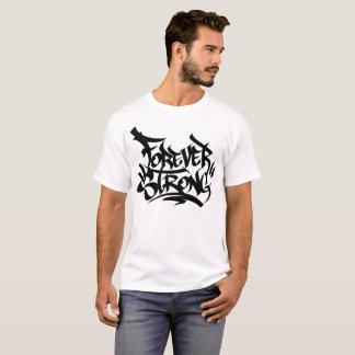 Camiseta Para sempre forte