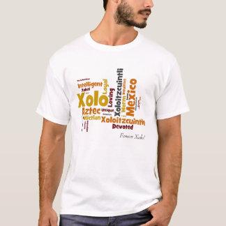 Camiseta Para sempre t-shirt da nuvem da palavra de Xolo