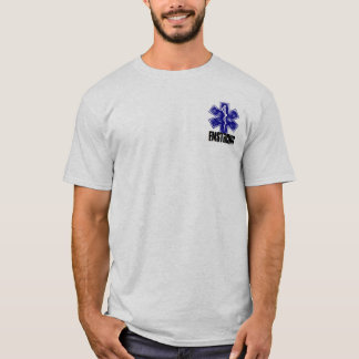 Camiseta Para trás da ambulância… ninguém pode ouvi-lo