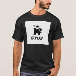 Camiseta parada da bobina