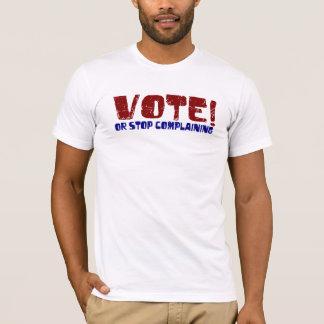 Camiseta Parada do voto que queixa-se