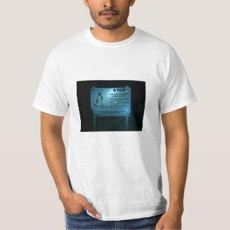 Camiseta parada: impeça sua morte
