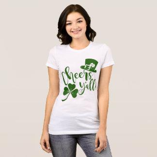 Camiseta Parada & partido irlandeses do dia da almofada da