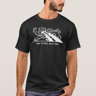 Camiseta Parafusos do leão w/Lightning {brancos}
