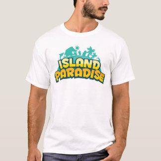 Camiseta Paraíso da ilha - t-shirt dos homens