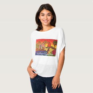 Camiseta Paraíso do por do sol