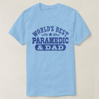 Camiseta Paramédico e o pai do mundo o melhor