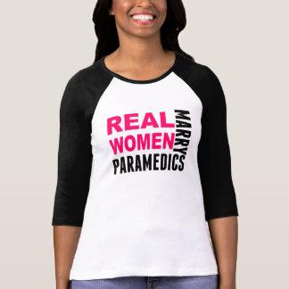 Camiseta Paramédicos do casado das mulheres reais