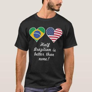 Camiseta Parcialmente brasileiro é melhor do que nenhuns