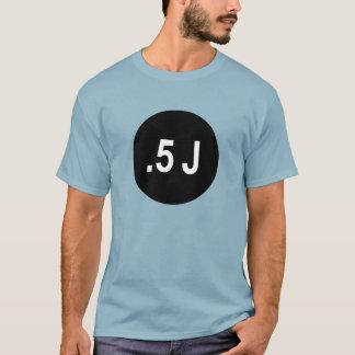 Camiseta Parcialmente japonês