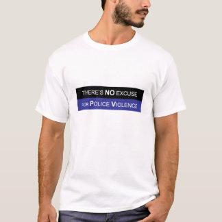Camiseta Pare a brutalidade de polícia