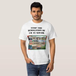 Camiseta Pare a demolição Um do t-shirt do al-Khair