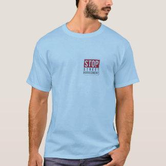 Camiseta Pare a perseguição da rua