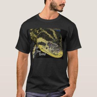 Camiseta Pare a proibição! Amarele o Anaconda
