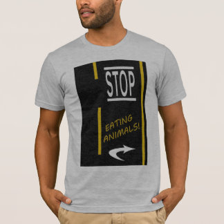 Camiseta Pare de comer o Vegan dos animais