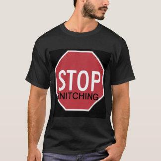 Camiseta Pare de dar informações BLCK