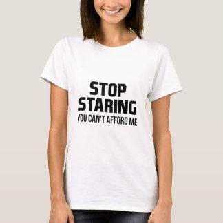 Camiseta Pare de olhar fixamente
