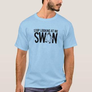 Camiseta Pare de olhar-me cisne