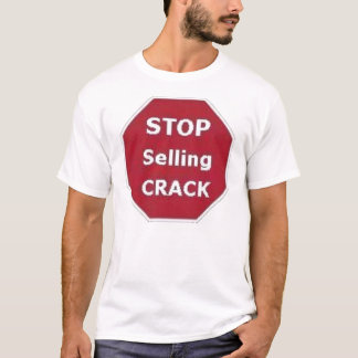 Camiseta Pare de vender o t-shirt da rachadura