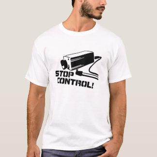 Camiseta Pare o controle