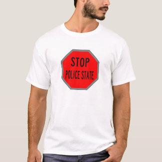 Camiseta Pare o enoughnow do estado policial