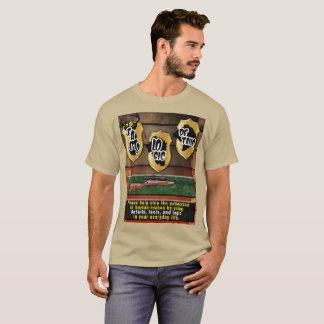Camiseta Pare o estúpido