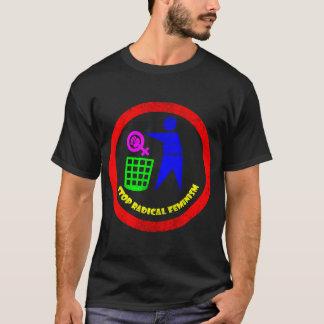 Camiseta Pare o feminismo radical