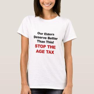 Camiseta Pare o imposto da idade