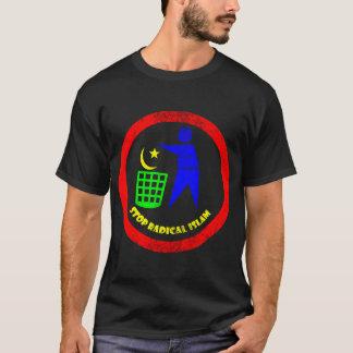 Camiseta Pare o Islão radical