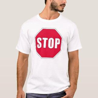 Camiseta Pare o t-shirt do sinal