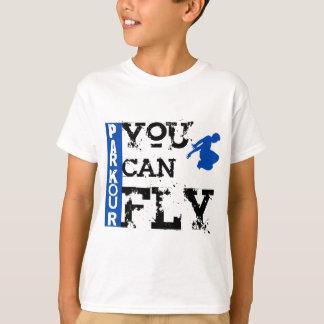 Camiseta Parkour - você pode voar