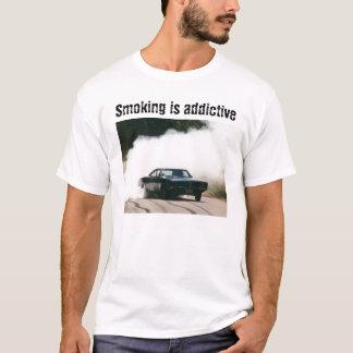 Camiseta Paródia de fumo