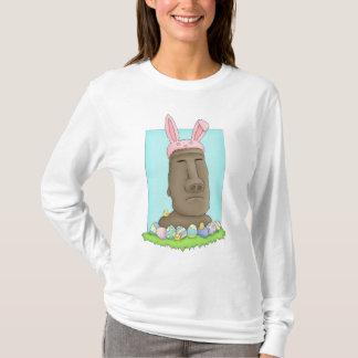 Camiseta Paródia do coelho da Ilha de Páscoa