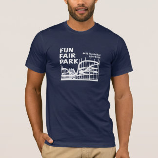 Camiseta Parque da feira de divertimento em sua escolha da