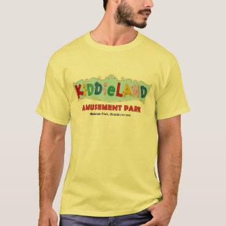 Camiseta Parque de diversões de Kiddieland do parque da