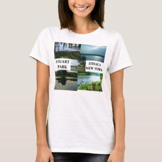 Camiseta PARQUE de STUART, T de ITHACA, NEW YORK