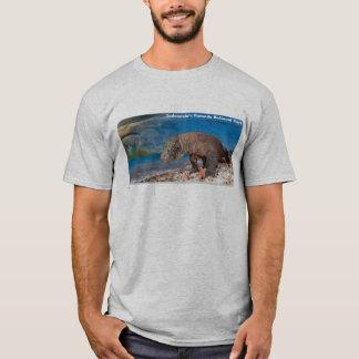 Camiseta parque do komodo de Indonésia