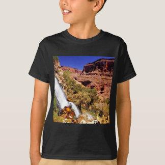 Camiseta Parque grande do rio do trovão da garganta