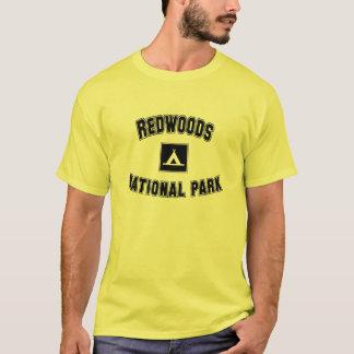 Camiseta Parque nacional das sequóias vermelhas