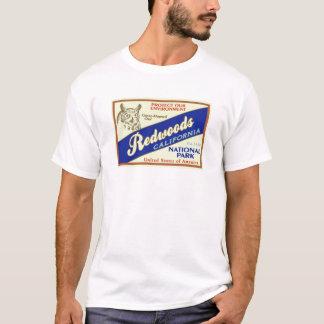 Camiseta Parque nacional das sequóias vermelhas (coruja)