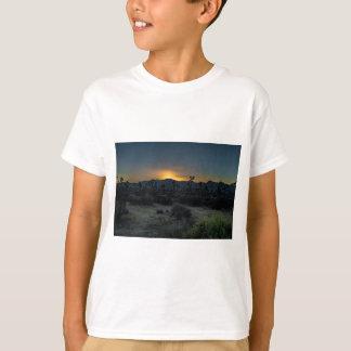 Camiseta Parque nacional de árvore de Joshua do nascer do