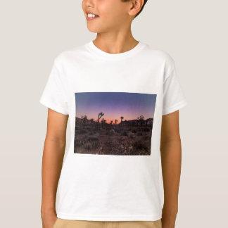 Camiseta Parque nacional de árvore de Joshua do por do sol