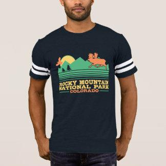 Camiseta Parque nacional de montanha rochosa