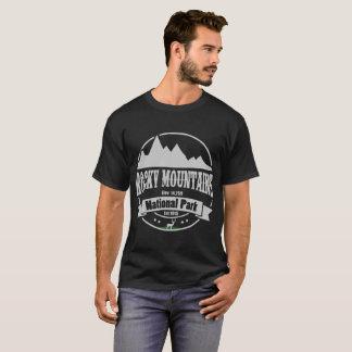 Camiseta parque nacional de montanhas rochosas