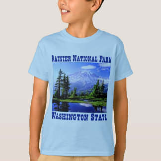 Camiseta Parque nacional de Raineer - estado de Washington